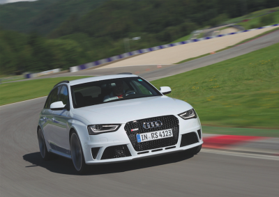 Beeindruckend: der Audi RS4 Avant