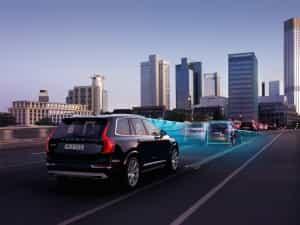 Fahrdistanz messen im Volvo XC90