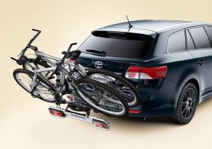 Fahrradtransport im Toyota 2 Auris Touring Sports