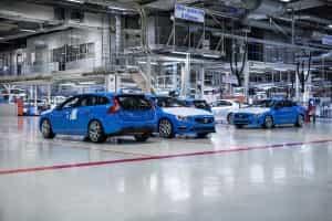 Kombi kaufen in der Volvo Fabrik