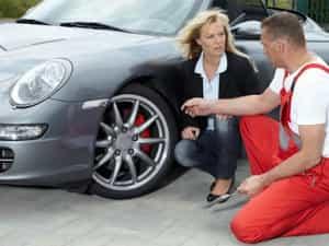 Falscher Reifendruck muss kontrolliert werden