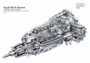 Automotor Grundlagen So sieht ein Audi Getriebe aus