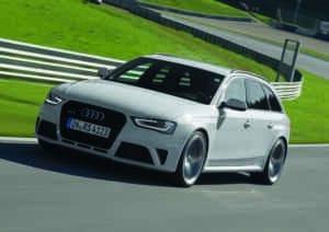 Noch kraftvoller: der Audi RS 4 Avant