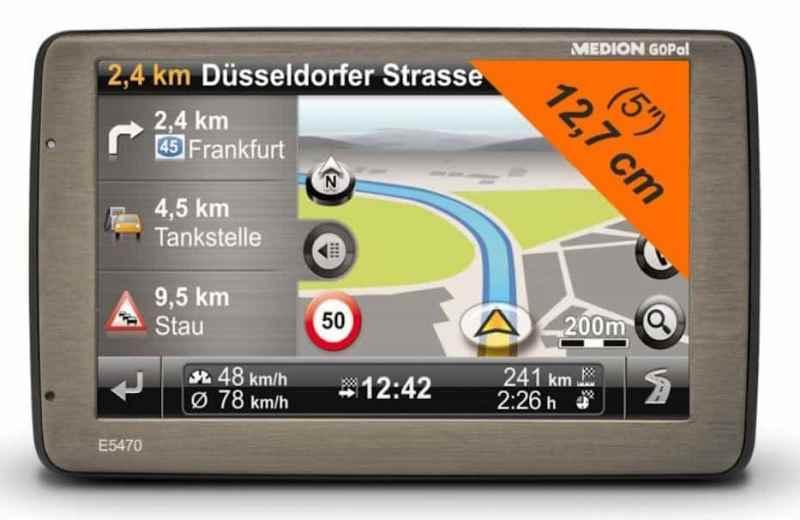 Medion Navigationssysteme vergleichen