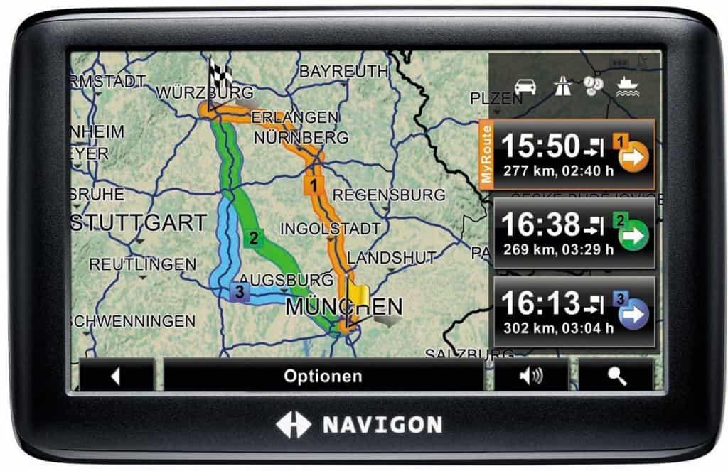 Navigon Navigationssysteme vergleichen