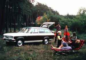 Opel Ascona Voyage 1970