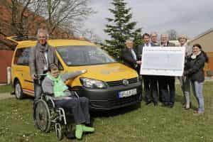 Ein behindertengerechter Kombi ist der VW Caddy Maxi
