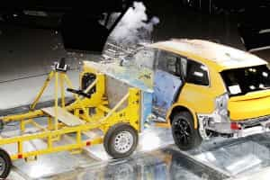 Crash-Test beim Kombi
