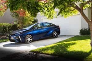 Toyota mit Brennstoffzelle
