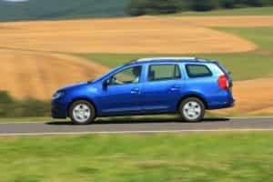 Dacia Logan MCV unterwegs