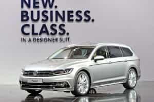 Top-Ausstattung auch im VW Passat