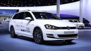 Volkswagen Kombi Portfolio: Der neue VW Golf Variant TGI BlueMotion