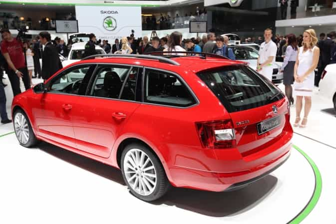 neuer skoda octavia auto kombi. Black Bedroom Furniture Sets. Home Design Ideas