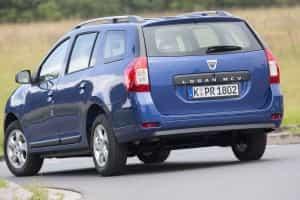 Dacia Logan MCV von hinten
