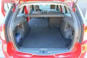 Kofferraum beim Dacia Kombi