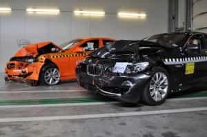 Autoversicherungen schützen bei einem Crash