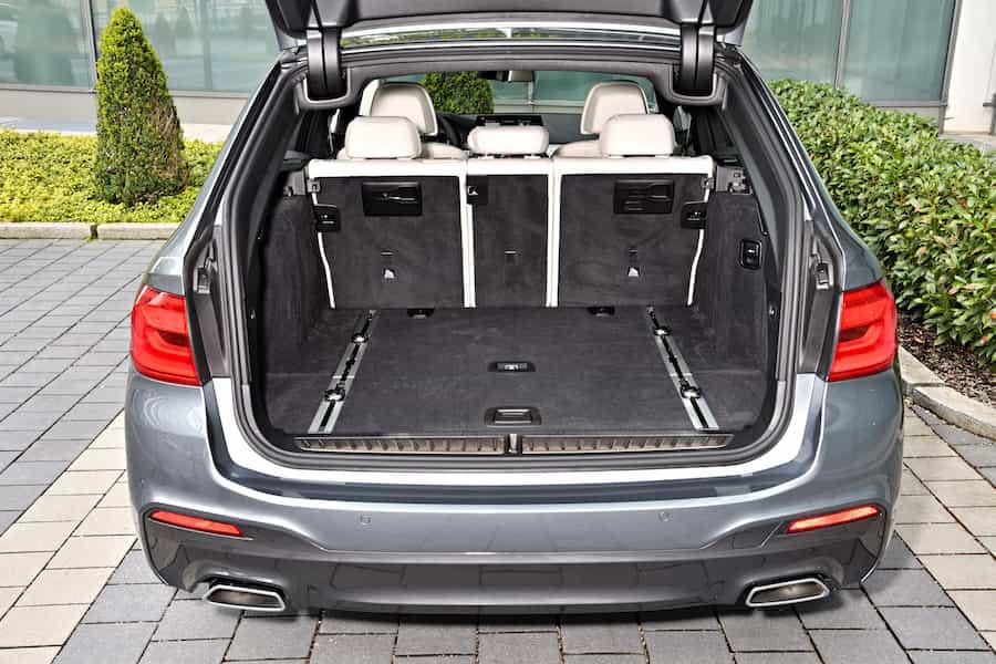 BMW 5er Touring 530d Kofferraum