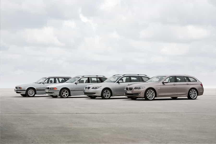 Die vier Generationen des BMW 5er Touring