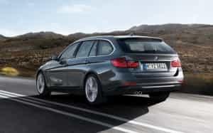 Der BMW-Kombi ist immer kraftvoll und ein Blickfang