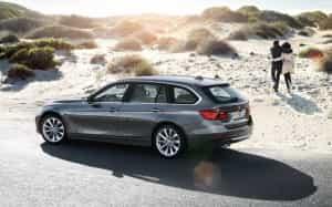 Für den Strand: das BMW-Kombi-Portfolio