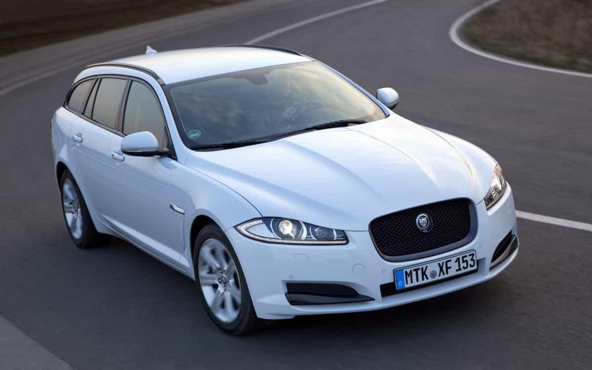 Der Jaguar Kombi heißt XF Sportbrake