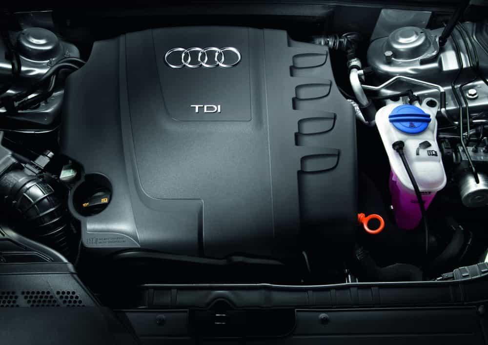 Der Motor des Audi A4 Avant 2.0 TDI