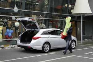Hyundai i40 Kombi im Alltag