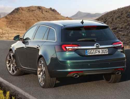 Opel Insignia Kombi: Auf der Autobahn wie auf Schienen