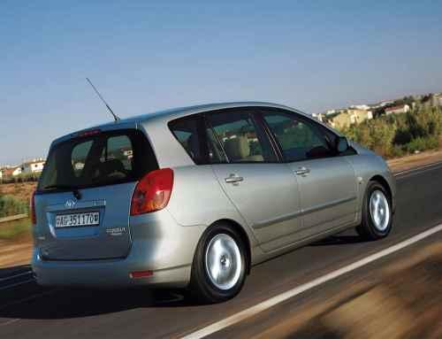 Toyota Corolla Verso ist zuverlässig und vielfältig ausgestattet