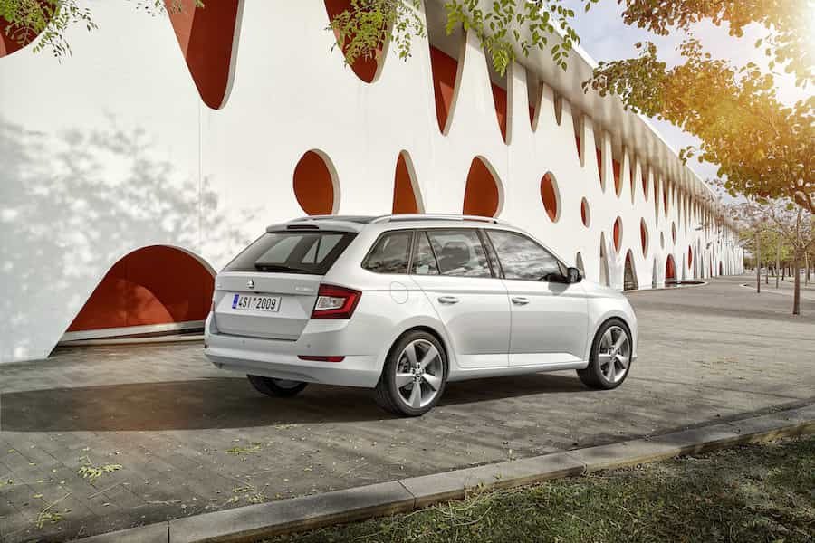 Skoda Fabia Combi in der 2018-Version.