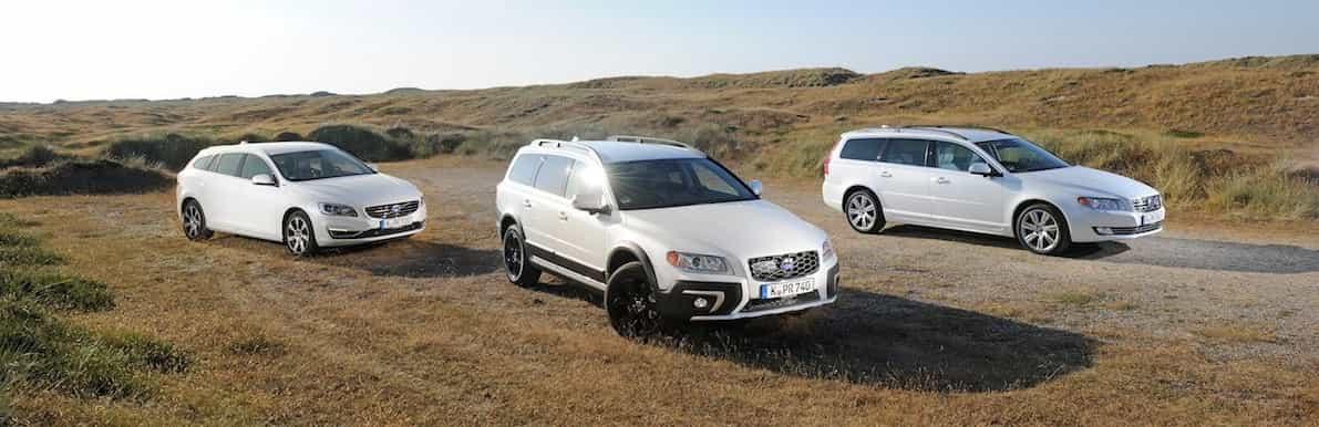 Volvo Kombis im Überblick