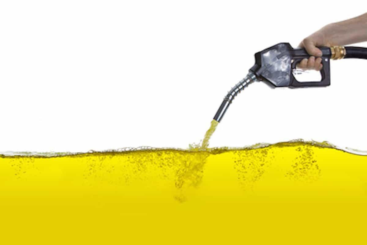 Der Weg vom Erdöl zum Benzin