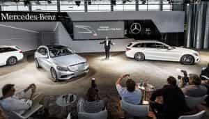 Die neue Mercedes C-Klasse mit Kombi