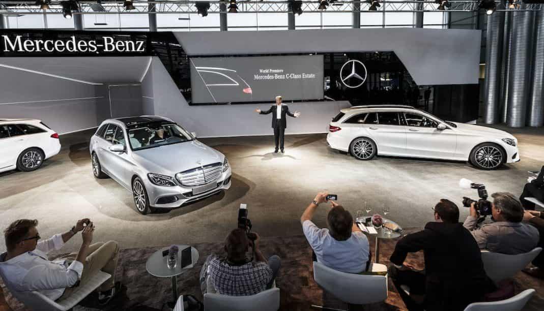 Die neue Mercedes Kombi in der C-Klasse