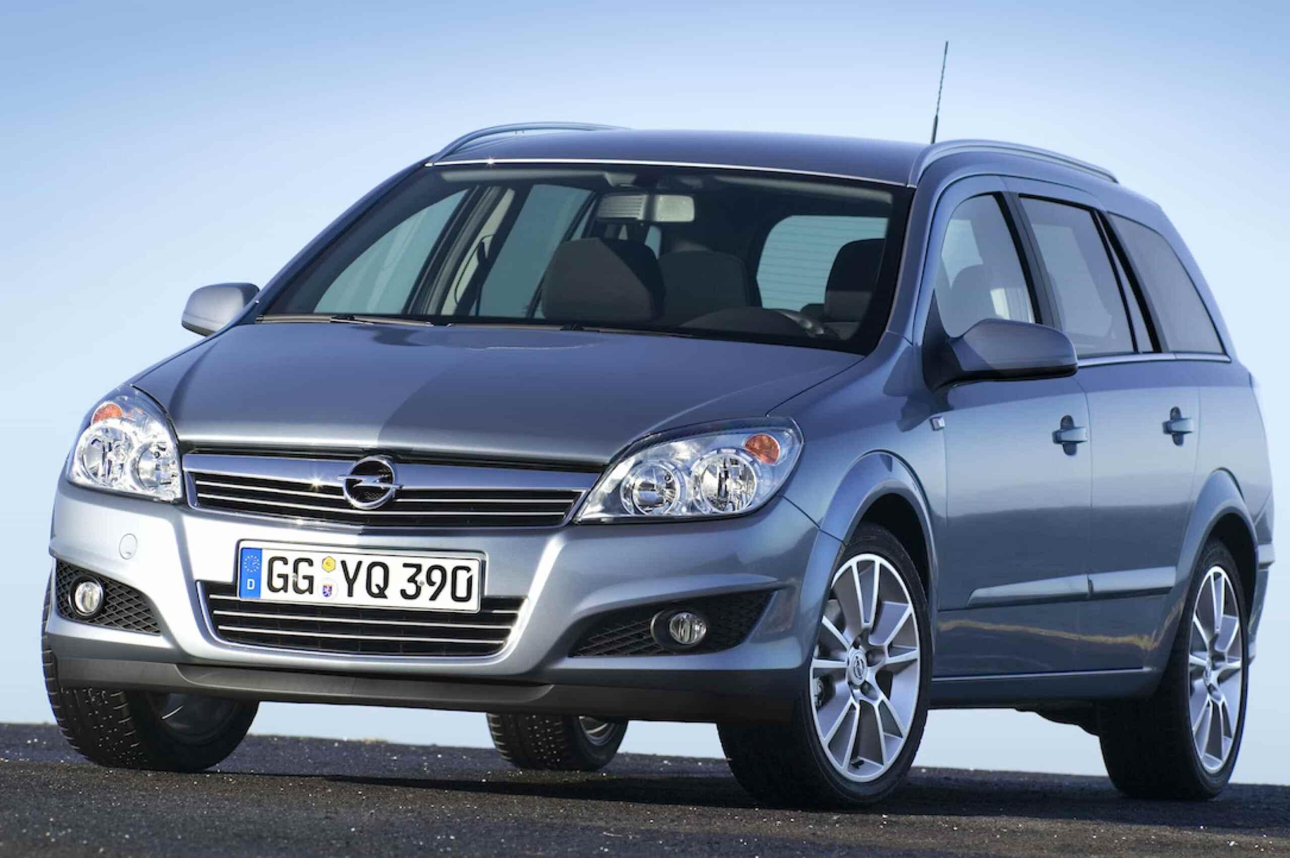Opel Astra Caravan Als Ur Version Vom Astra Kombi