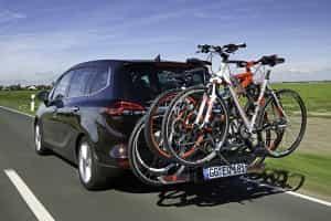 Opel Zafira mit Fahrrad