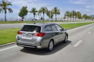 Toyota Auris Sports Tourer auf Reisen