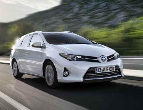 Toyota Auris Touring Sports als erster Hybrid-Kombi