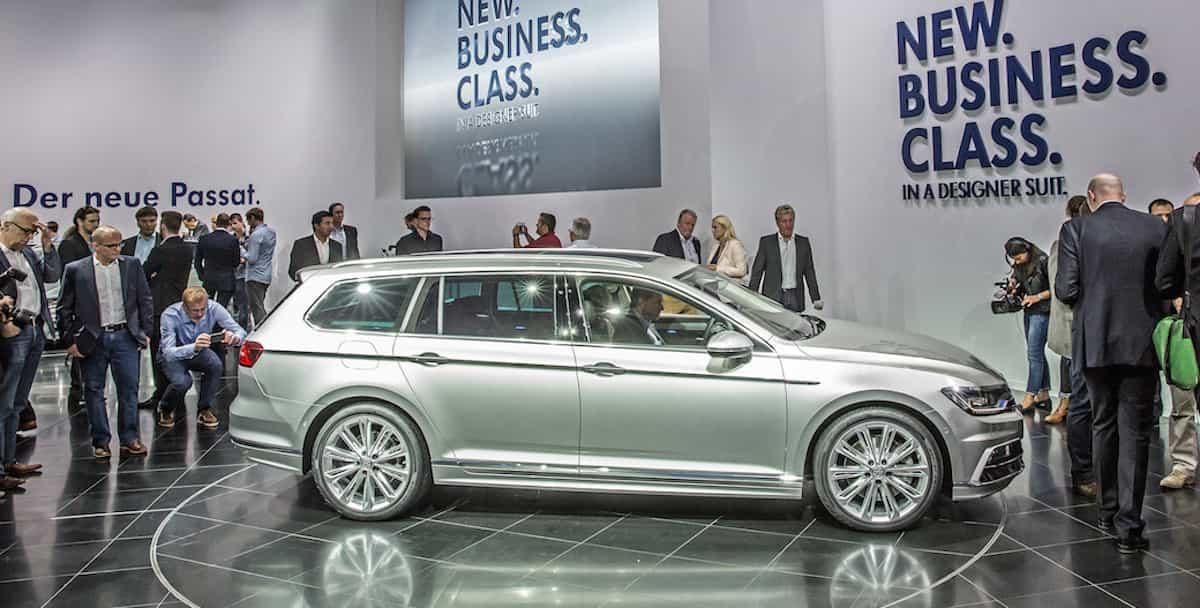 Weltpremiere Volkswagen Passat Variant in Potsdam