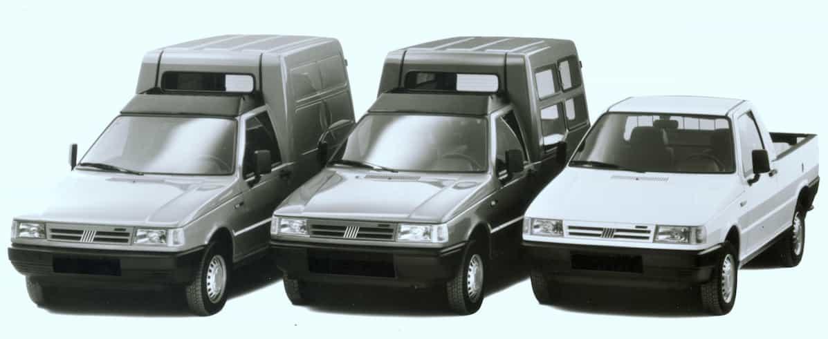 Fiat Kombi Fiorino Portfolio