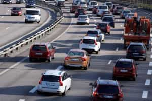 Mit Stau ist auf Autoreisen zu rechnen