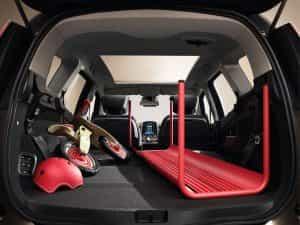 Viel Platz im Renault Grand Scenic Kofferraum