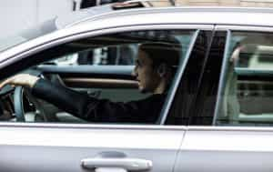 Zlatan Ibrahimović am Steuer vom V90