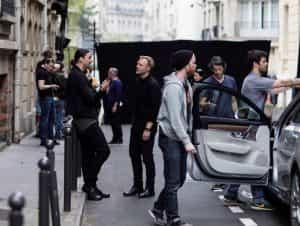 Zlatan Ibrahimovic am Volvo-Set