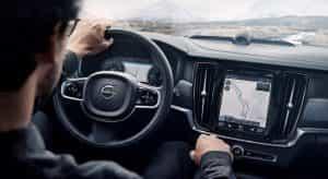 Volvo Cross Country im Innenraum
