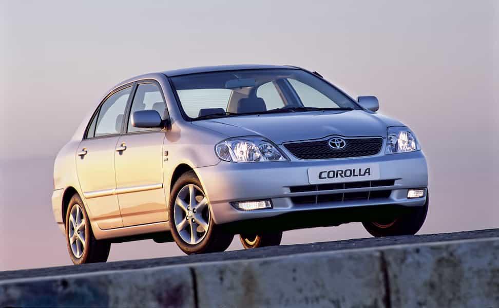 Toyota Corolla Geschichte Generation 9