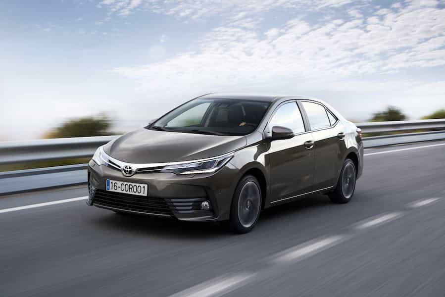 Toyota Corolla Geschichte Generation 11