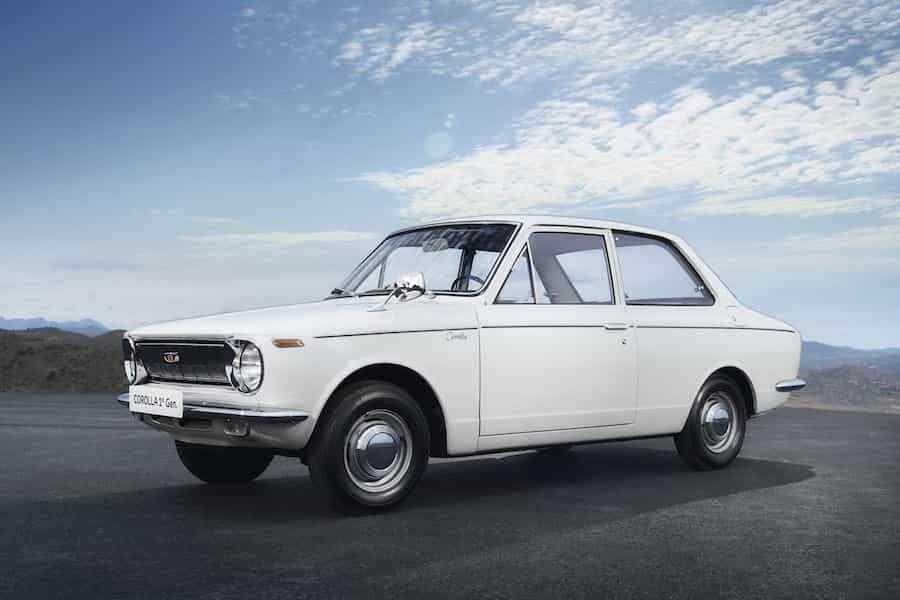 Toyota Corolla Geschichte Generation 1