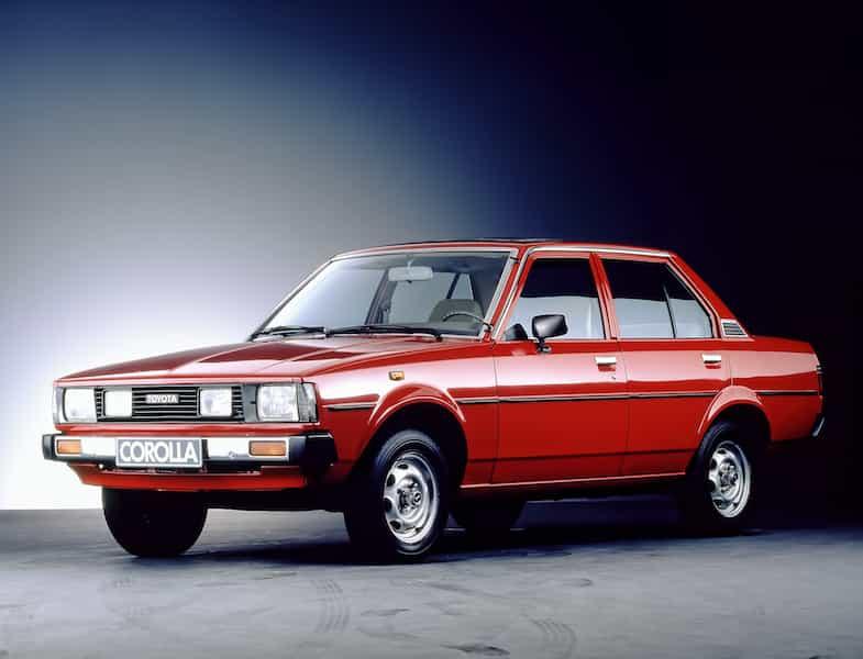 Toyota Corolla Geschichte Generation 4