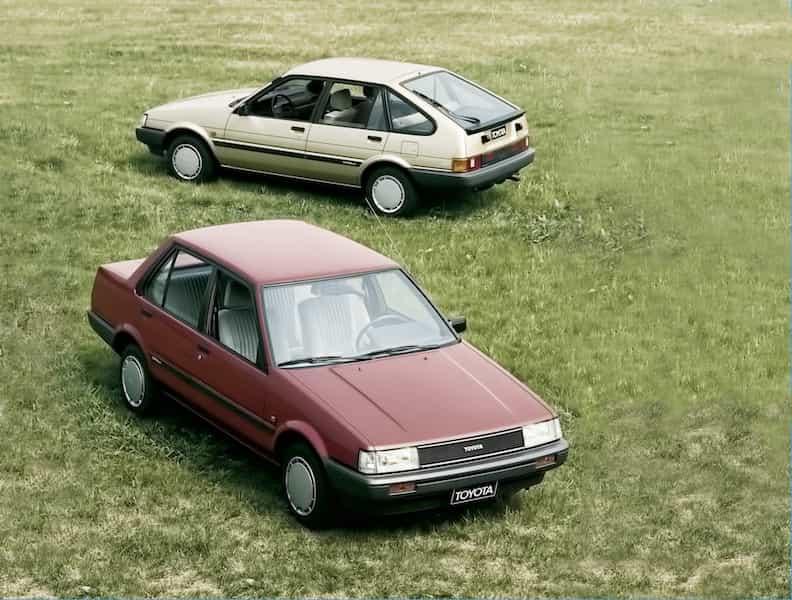 Toyota Corolla Geschichte Generation 5